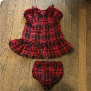 Ralph Lauren Taffeta Dress with bloomers